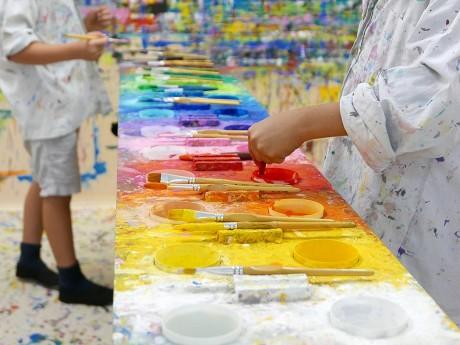 Freies Malen und Gestalten